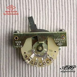 Club-per-Stratocaster-USA-5-Way-CRL-Electroswitch-Leva-Switch-Strat
