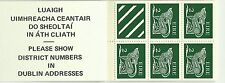 Irlande Animaux Stylisés Chiens Dogs Stylized Animals Hund ** 1975 Carnet 15 Val
