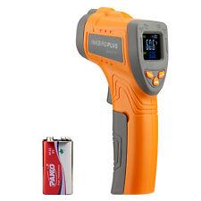 Inkbird Digital Infrared Thermometer Non Contact Laser Temperature Gun Lcd Gauge