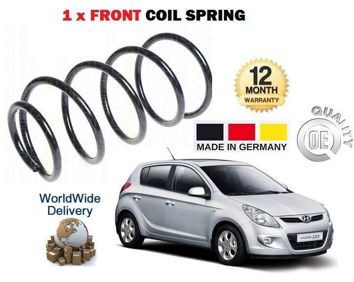 Für Hyundai I20 1.2 1.4 Klappe 2009  Neu 1 X Vordere Spiralfedern Oe-Qualität