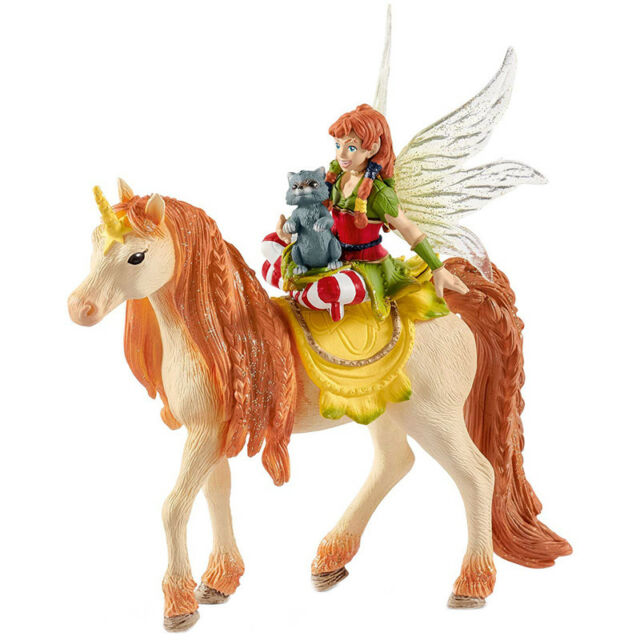 Schleich Bayala Fairy Marween with Glitter Unicorn Collectable Figure 70567 NEW