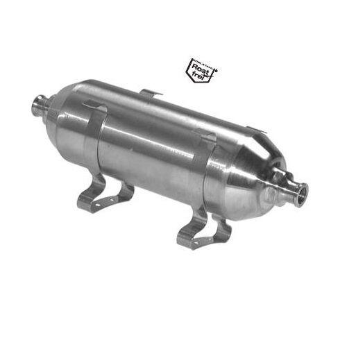 SERBATOIO aria compressa, Acciaio Inox, contenitore piccola, 16 bar O.Raccordi, contenitore Inox, 4e1b85