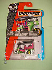 MATCHBOX 2017  6/125  Tuk - Tuk  TAXI  1:64  MB1054  NIP
