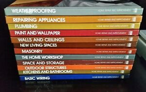 Euc set of 12 hb books time life home repair improvement fix do it image is loading euc set of 12 hb books time life solutioingenieria Image collections
