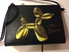 SIGNED BY Jeff Koons for H&M RARE - Limited Edition Balloon Dog Handbag purse