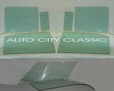 1955 1956 1957 CHEVROLET PONTIAC 150 2DR WAGON VENT DOORS QUARTER GLASSES GREEN
