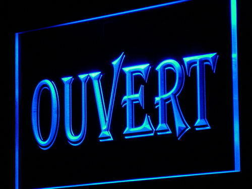 "16/""x12/"" j162-b OUVERT OPEN Shop Neon Enseigne Lumineuse"