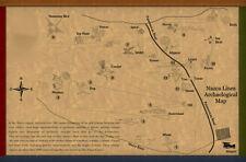 Framed Print - Nazca Line Peru Map(Picture Poster Art Alien Extraterrestrial UFO