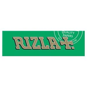 Full Box of 100 Booklets Rizla Green Medium Thin Rolling Cigarette Papers £15.59