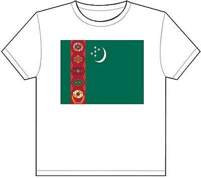Turkmen Shocker T-Shirt Tee Shirt Free Sticker Turkmenistan TKM TM
