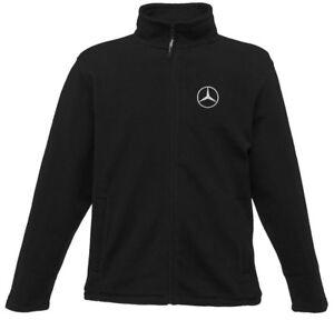 Giacca in con Mercedes logo Full pile Zip ffq7Odr