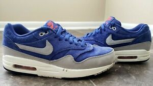 factory price 6e64c 3e186 Image is loading Nike-Air-Max-1-PRM-Deep-Royal-Blue-