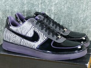 the latest 5b419 412ca Image is loading Nike-Air-Force-1-Low-Downtown-NRG-Zebra-