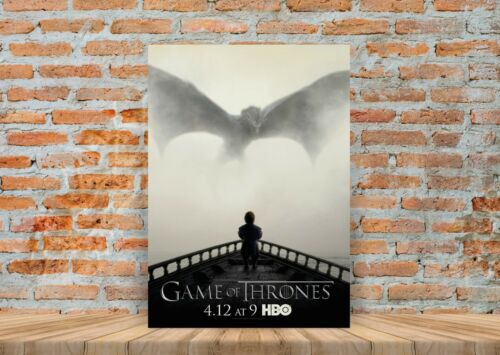 A3 A4 Sizes Game Of Thrones Dragon TV Show Poster or Canvas Art Print