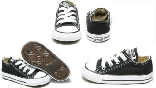 ALL STAR CHUNK TAYLOR LOW BLACK 7J235 Converse  Infant toddlers TD