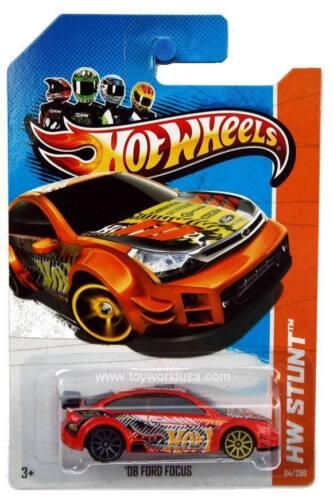 2013 Hot Wheels #84 HW Stunt HW Drift Race /'08 Ford Focus orange