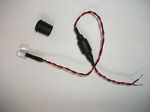 LED-Blinkend-Weiss-12V-10mm-Waehlen-Sie-Ihr-Blink-Intervall