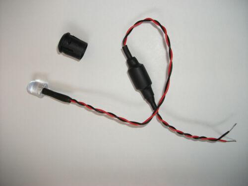 Lampeggiante Blu LED 12V scegliere il tuo intervallo flash 10mm