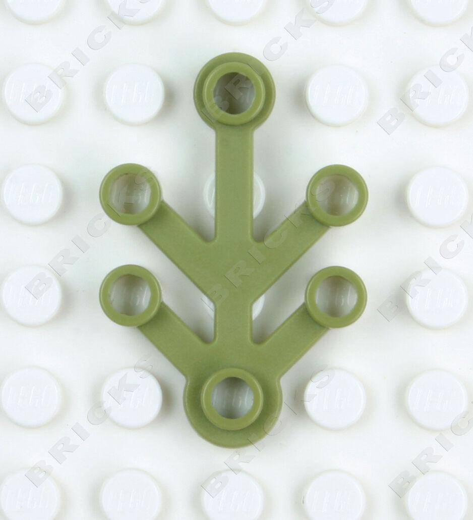 Lego Minifigure Small Plant Tree Leaves Leaf 4x3 4 x 3 2423 Free Shipping!