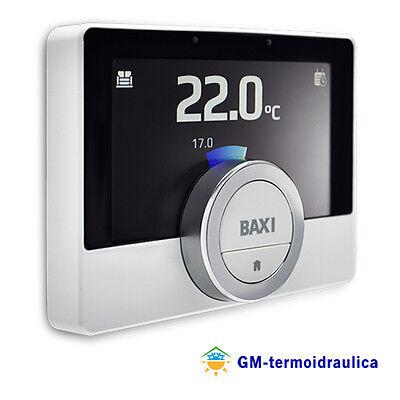 Cronotermostato a Parete Baxi Mago con Modulo Wi-Fi e Kit Adattatore Caldaia