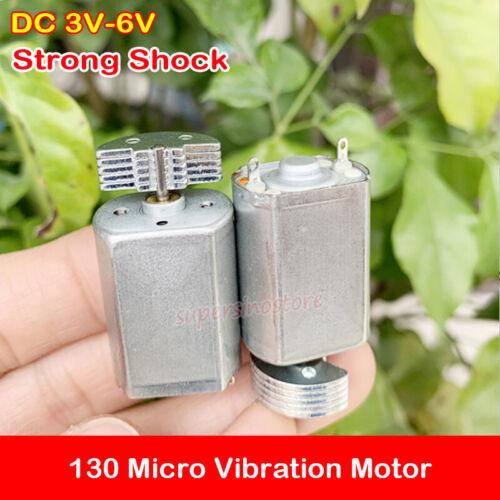 DC 3V-6V 3.7V 130 Micro Mini Vibration Motor Massage Vibrator Strong Shock DIY