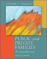 Public and Private Families: An Introduction, Cherlin, Andrew, Good Book