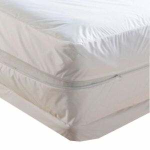 Waterproof Zippered Mattress Protector Bed Bugs Dust Mites