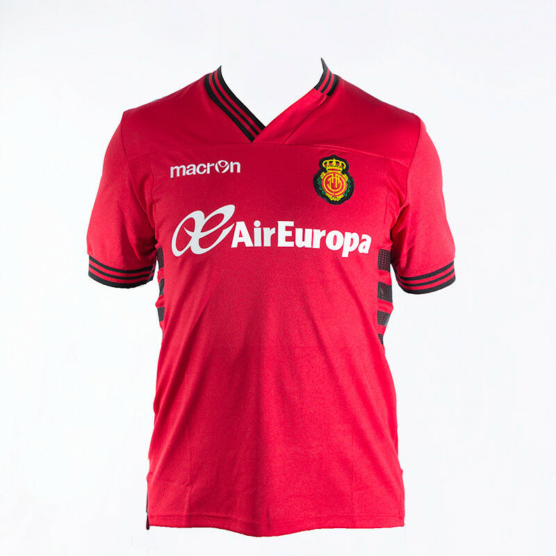 RCD Mallorca Trikot   Real Mallorca Trikot Trikot Trikot rot Gr. M Heim Macron Neu ab3f5c