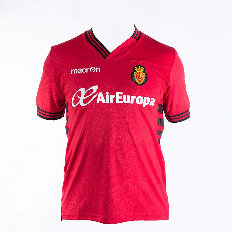 RCD Mallorca Trikot / Real Mallorca Trikot, rot, Macron, Gr. M, Heim, Macron, rot, Neu aef60e