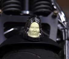RETRO REPLICA INDIAN CHIEF WHITE FACE FRONT FENDER LAMP LIGHT CHROME HARLEY CUST