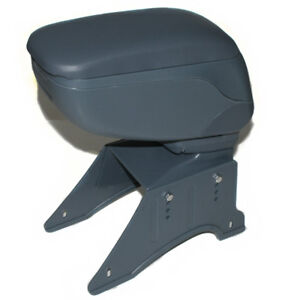 Grey Sliding Armrest Arm Rest Centre Console Box For MG Rover Mini Cooper