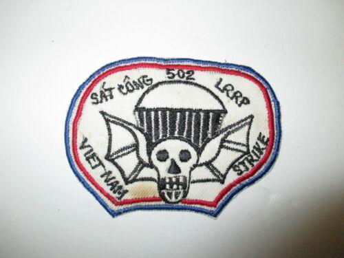 b8910 Vietnam US 502nd Airborne ABN PIR Parachute Infantry Strike LRRP IR40C