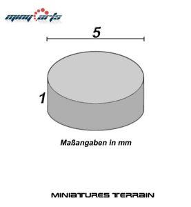 10-Magnete-Neodimio-Rotondo-5-X-1-MM-Eccellente-per-Modellismo-Mini-Permanente