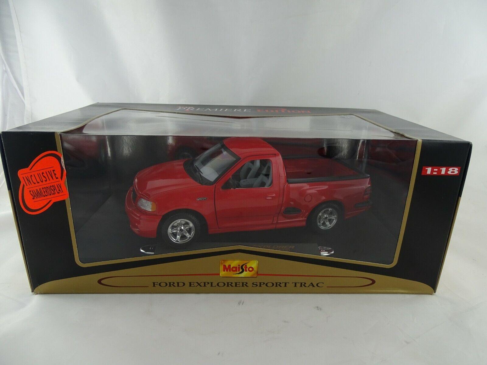 1 18 Maisto  536891B Ford Explorer Sport Trac rot