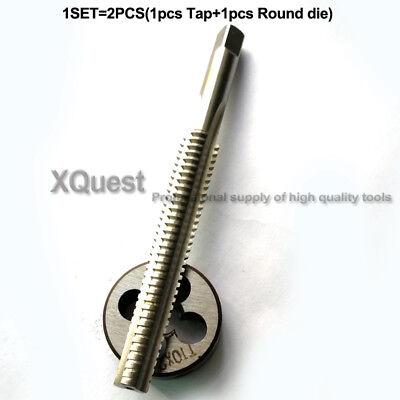 2pcs Unified thread Tap /& die set UN1//2 taps dies 1//2-13-14-16-18-20-24-28-32-40