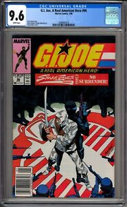 G-I-Joe-A-Real-American-Hero-96-CGC-Graded-9-6-NM-White-Marvel-Comics-1990