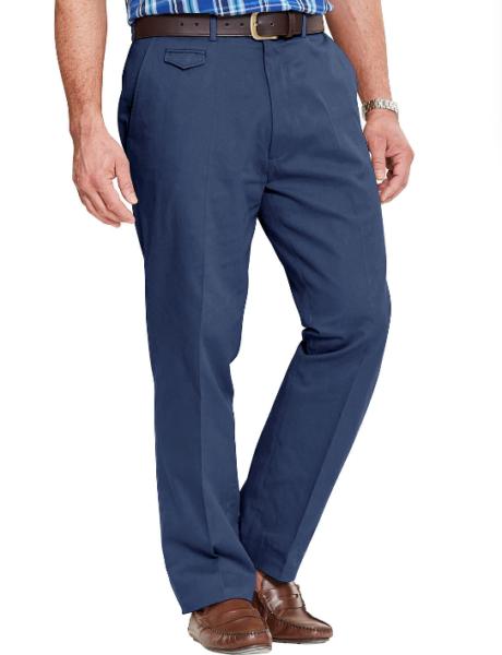 """2019 Ultimo Disegno Pegasus-blu Scuro Pantaloni Chino Uk W48""""l27"""" Nuovo Di Zecca Una Gamma Completa Di Specifiche"""