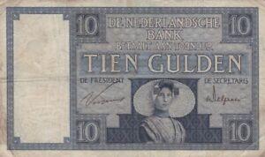 10-Gulden-1924-Niederlande-P-43a