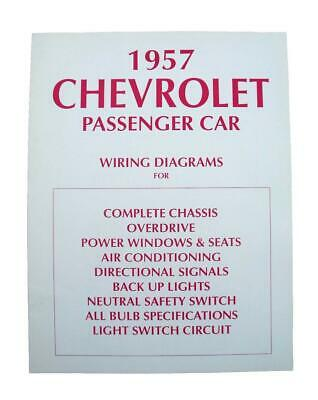 57 Chevy Wiring Diagram 1957 Chevrolet New | eBay