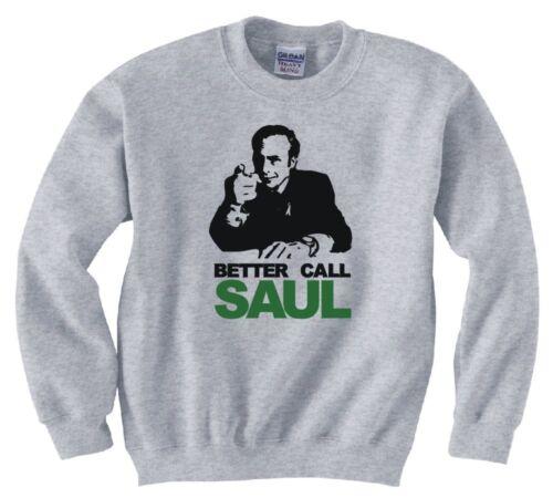 "/""BETTER CALL SAUL/"" SWEATSHIRT NEW"