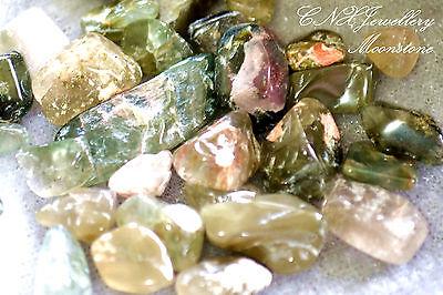 Tumbled Gemstone Natural Crystal Moonstone 5g Birthstone of Cancer Jun Jul