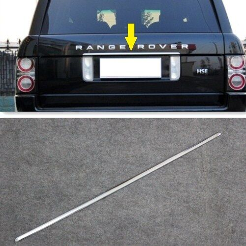 Range Rover L322 2003-2013 Bright Chrome Rear Trunk TAILGATE TRIM STRIP