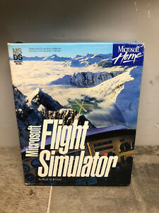 Vintage-Microsoft-Flight-Simulator-Version-5-on-3-5-034-Floppy-Disks