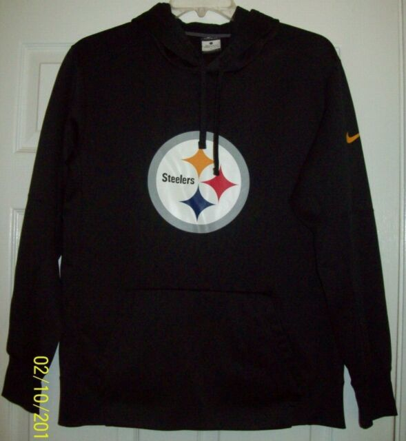 sale retailer 72057 1a40c Pittsburgh Steelers Nike Therma Fit Sweatshirt Hoodie Men's Large