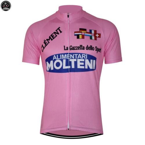 Cycling Molteni Retro Bike Jersey Racing Riding Tri MTB Vintage Team Pro Merckx