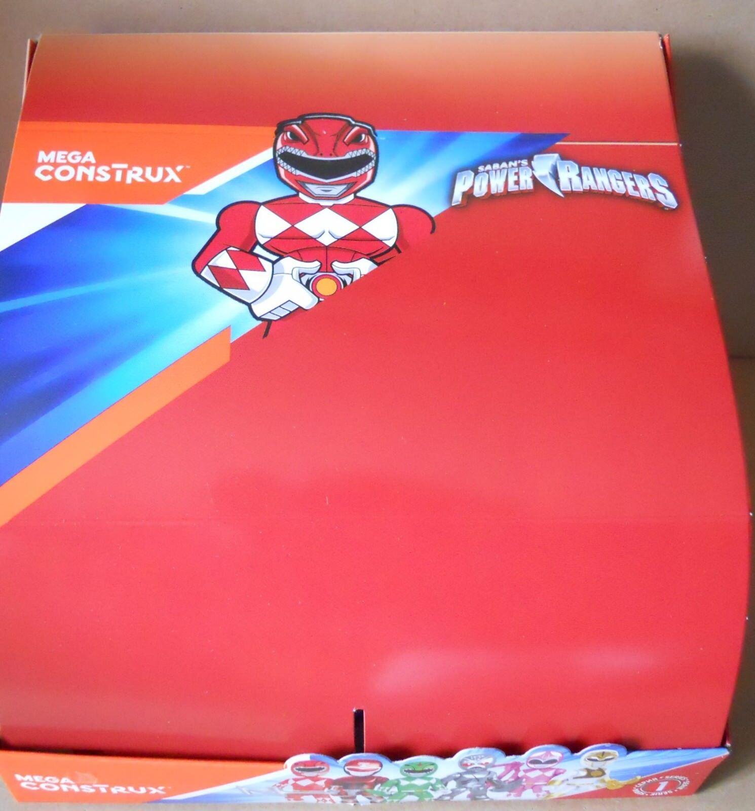 BOX di di 24 bustine POWER RANGERS con personaggi assortiti
