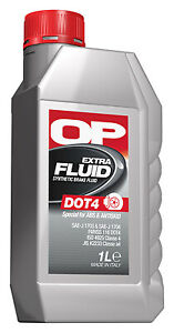Liquide de frein DOT4 - Bidon  1L BFE1000.10 Auto Moto Camion Quad Etc