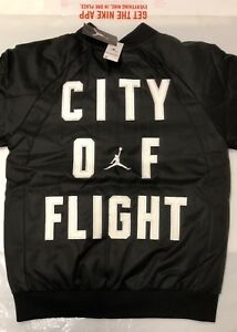 54fb81724342 NIKE AIR JORDAN CITY OF FLIGHT REVERSIBLE BOYS 10-12 BOMBER JACKET ...