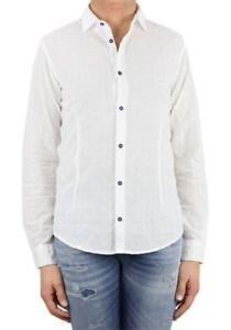 Armani-Jeans-Camicia-Uomo-Col-Bianco-tg-varie-20-OCCASIONE