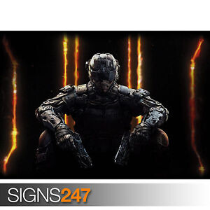 CALL OF DUTY BLACK OPS 3 (1117) Photo Picture Poster Print Art A0 A1 A2 A3 A4